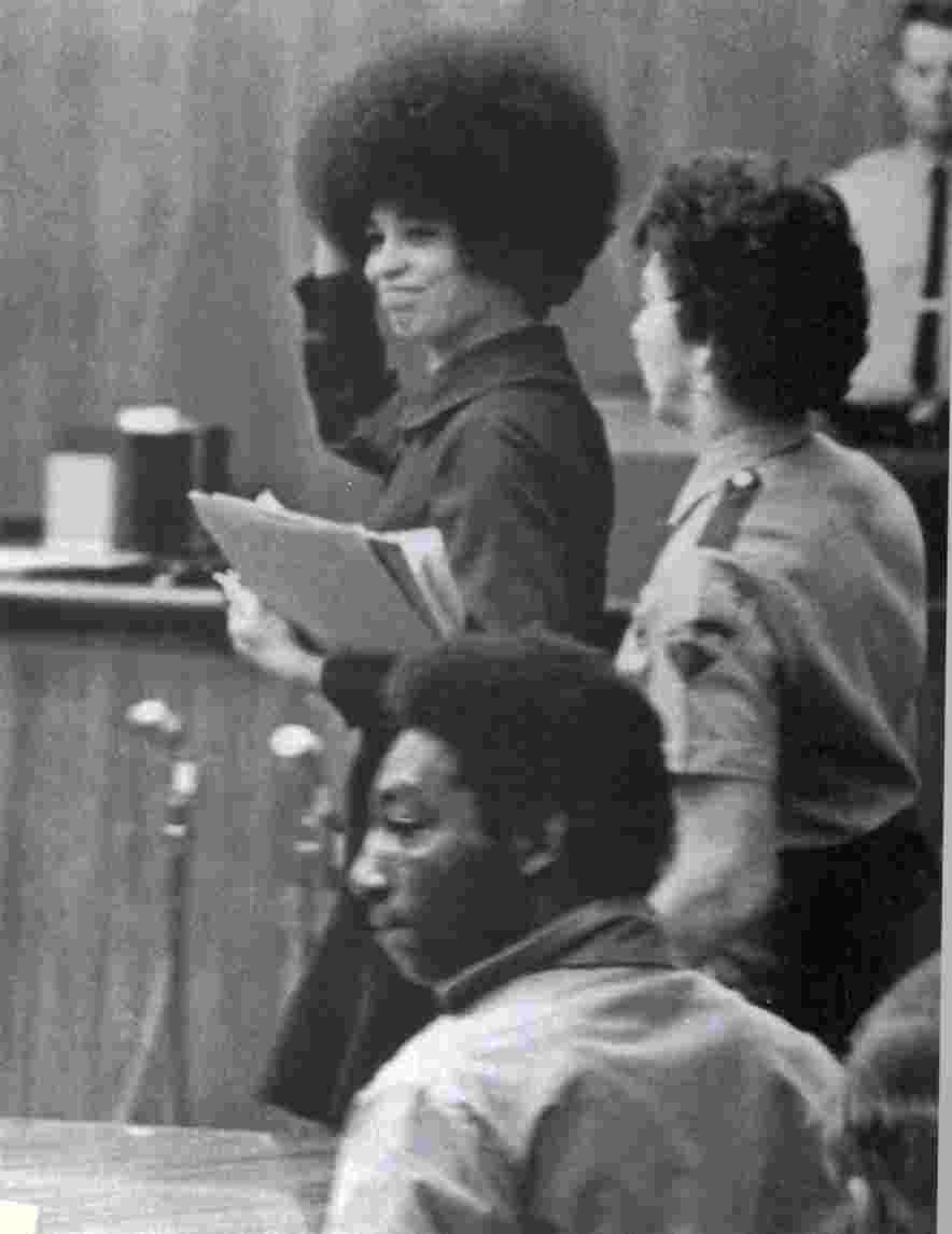 And personal hero Angela Davis will be speaking tonight   From the    Angela Davis Black Panther