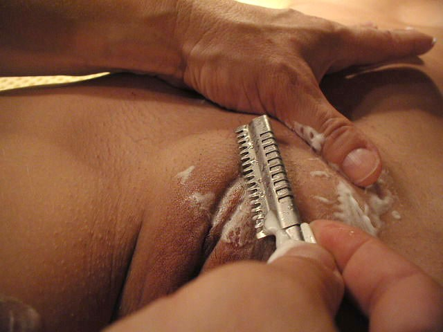 watch me shave my vagina № 15897